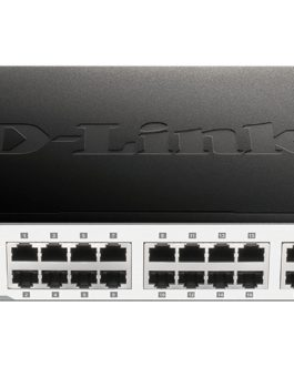 D-Link DGS-1024D 24-Port Gbe Unamanaged Switch – Rackmount